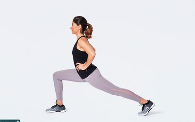 standing lunge stretch