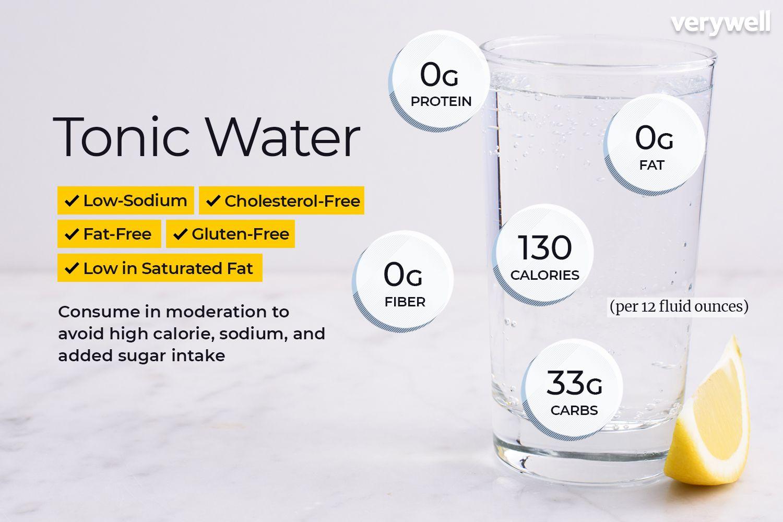 diet tonic water ingredients