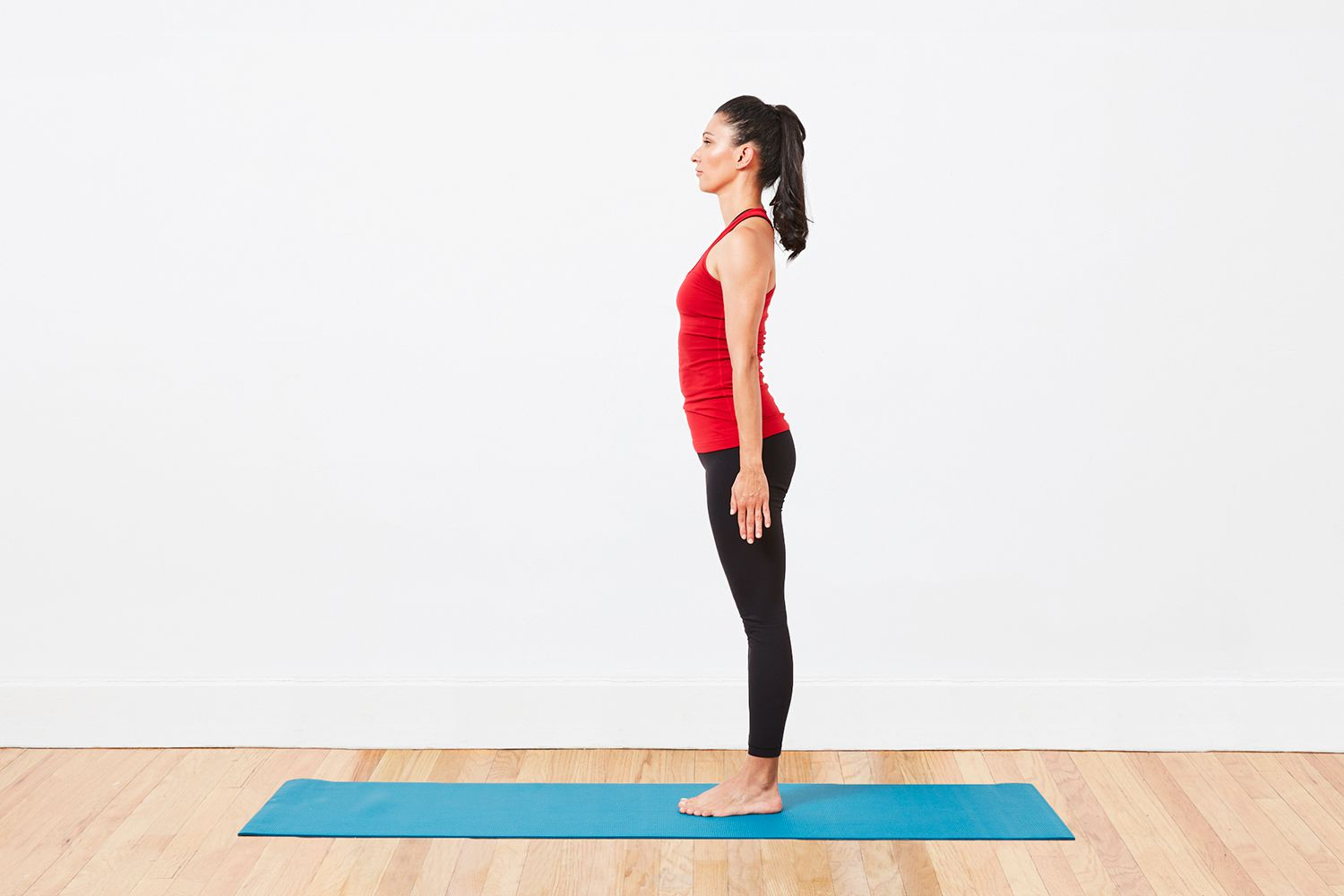 Fierce Warrior Pose Yoga Sequence at Home