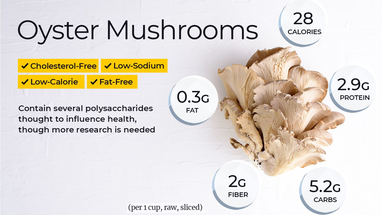 Oyster Mushroom Nutrition Facts And Health Benefits