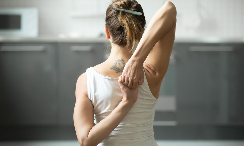 supraspinatus stretch