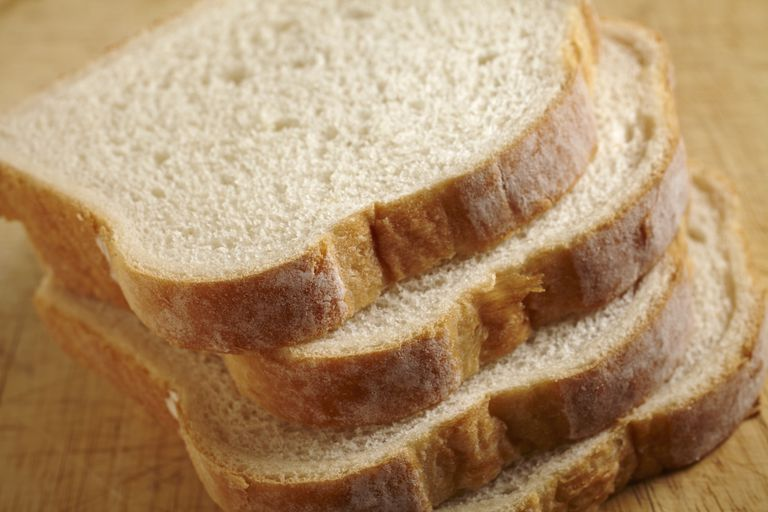 Refined carbohydrates like white bread