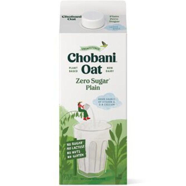 Chobani Zero Sugar Oat Drink