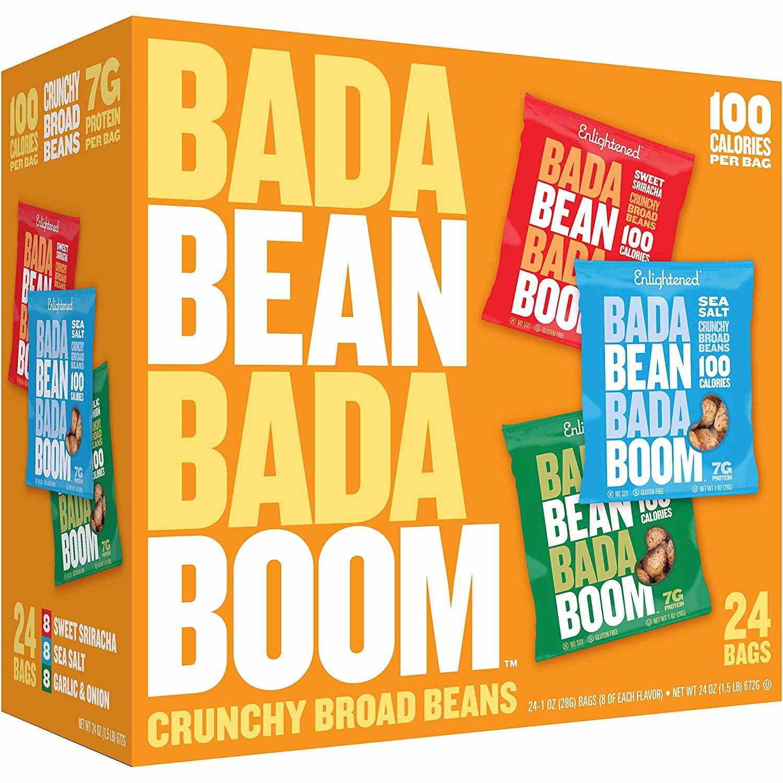 Bada Bean Bada Boom Crunchy Roasted Broad Bean Snacks