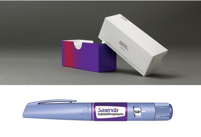 saxenda box and pen