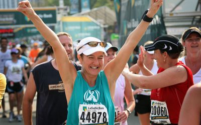 Chicago Marathon finisher