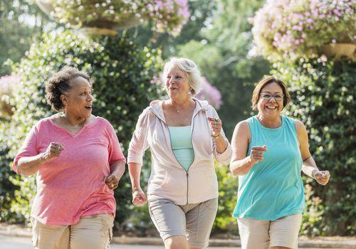 Older women exercising