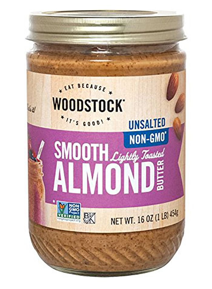 Woodstock Smooth Lightly Toasted Almond Butter