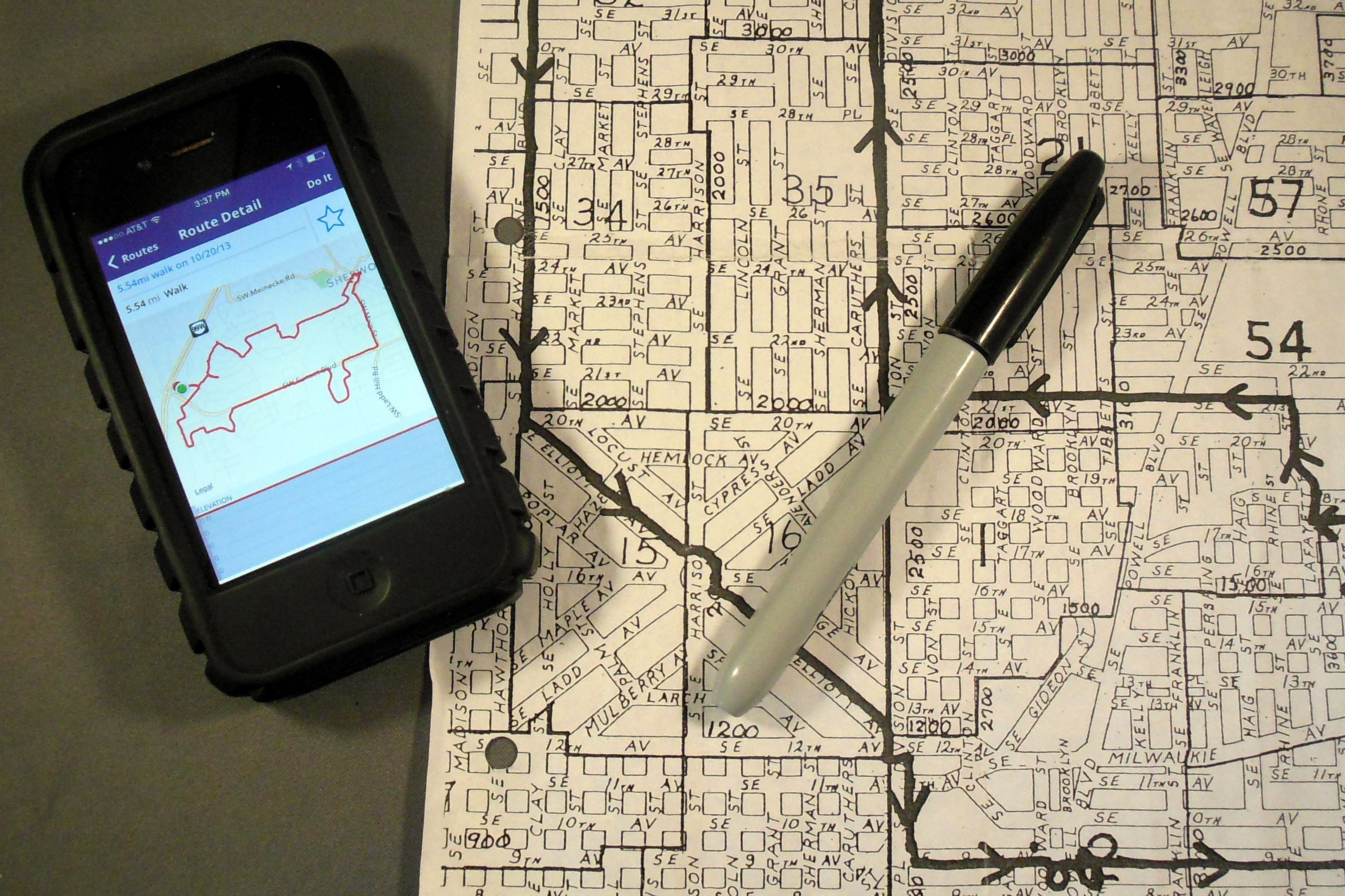 Planning a Walking Route