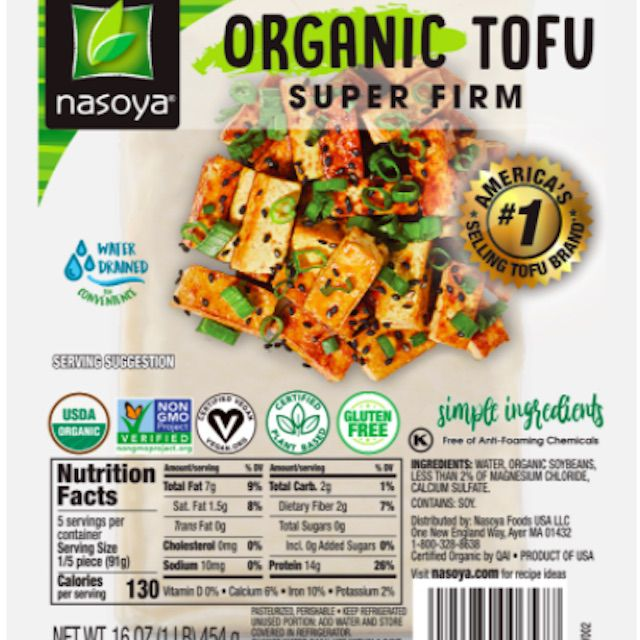 Nasoya Organic Tofu Super Firm