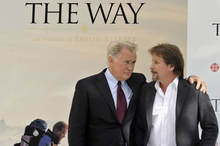 Martin Sheen and Emilio Estevez in The Way