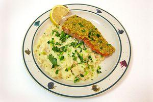 Pistachio Crusted Salmon