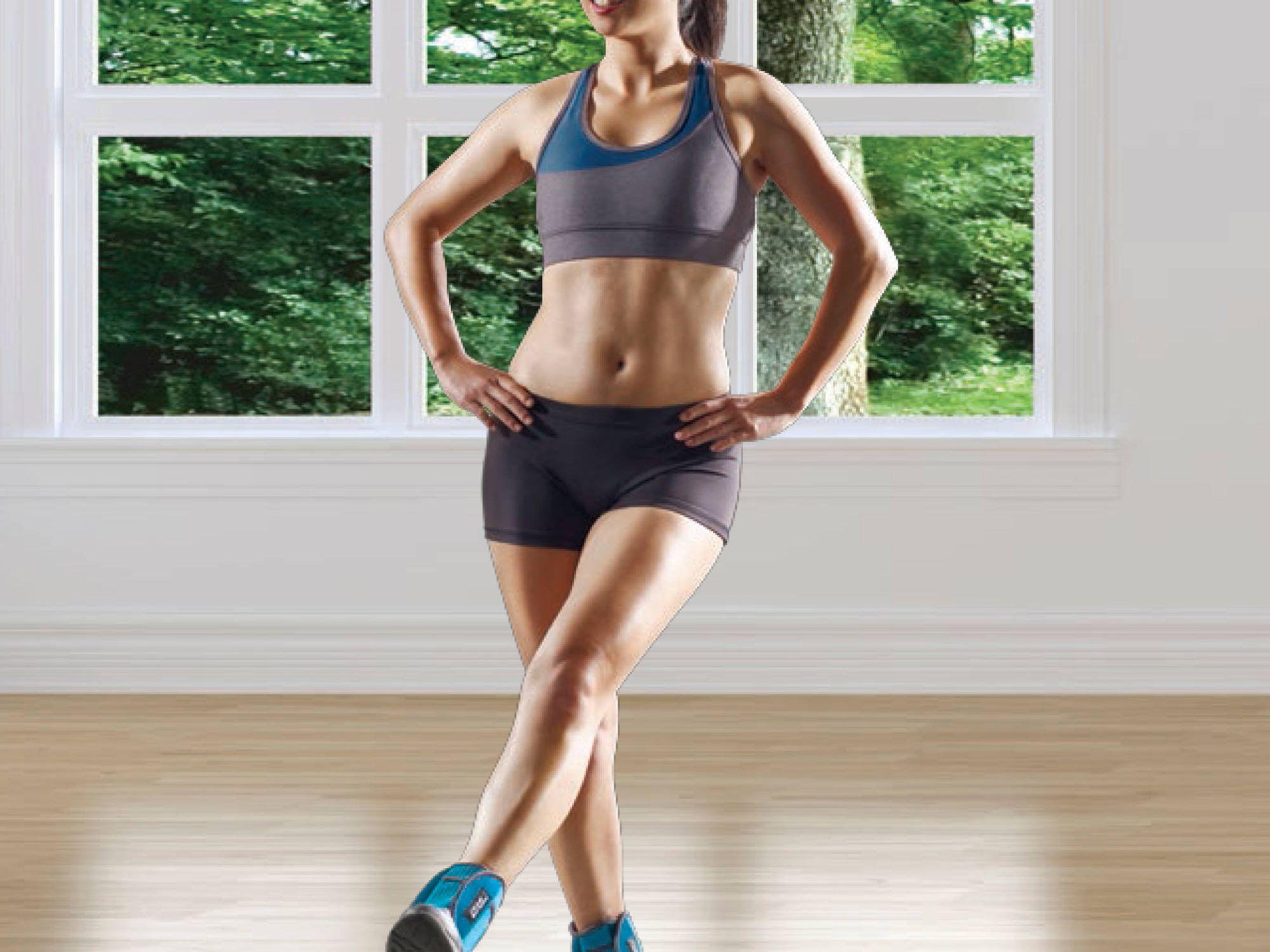 Adjustable Ankle Wrist Weights Comfort Fit Set for Men Women Kids Gym Exercise S