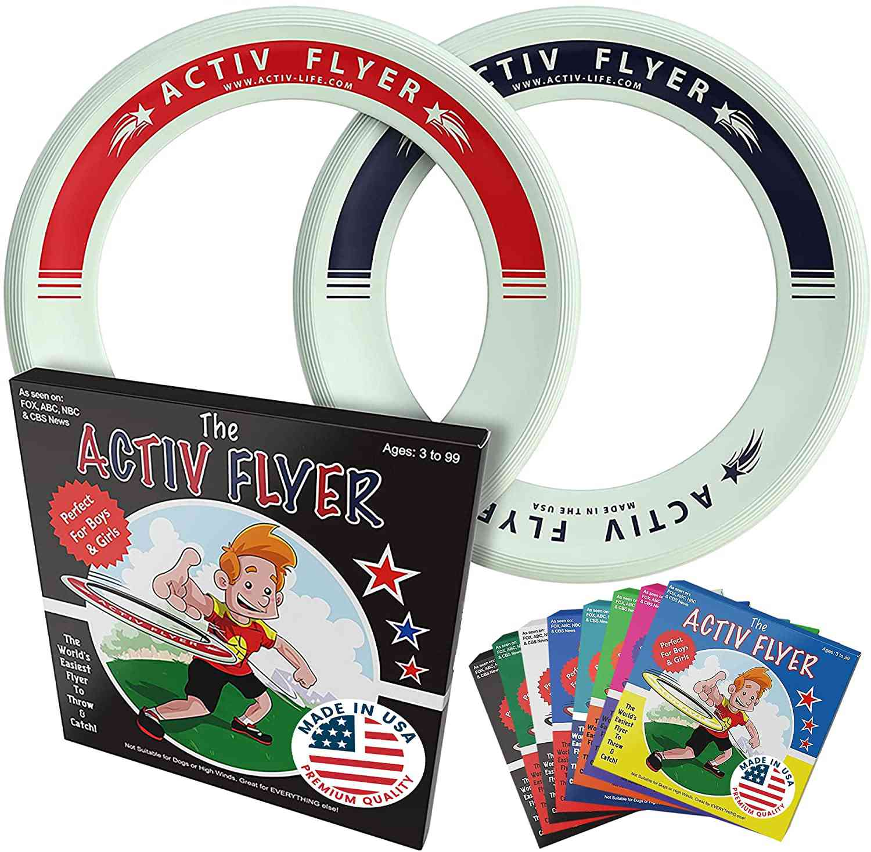 Activ Life Kid's Flying Rings (2 Pack)
