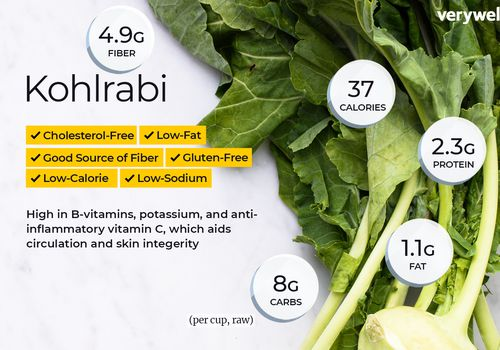 kohlrabi nutrition facts and health benefits