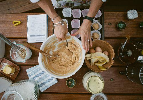 harina sin gluten y hornear