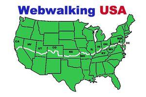 Webwalking USA Map
