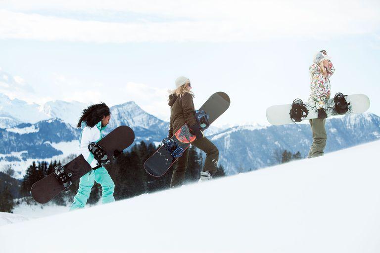 snowboarding winter sport