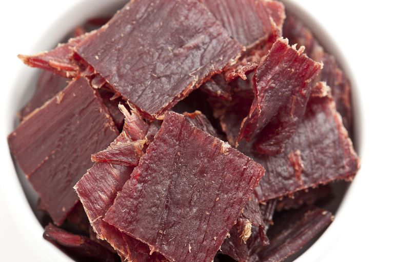 Beef Jerky is good for emergency food pantries.