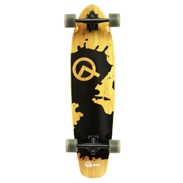 Quest Rorshack 34-Inch Complete Longboard