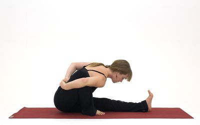 How To Do Marichyasana A Yoga Pose
