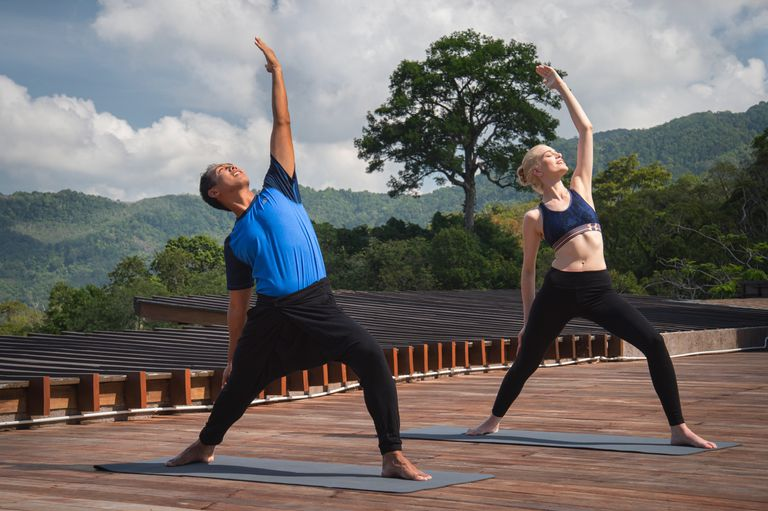 Keemala resort Phuket yoga