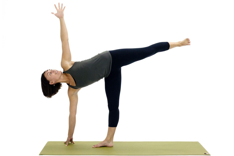 Yoga Poses for Hamstrings: Ardha Chandrasana