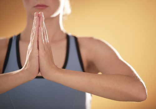 Anjali Mudra -Prayer Position