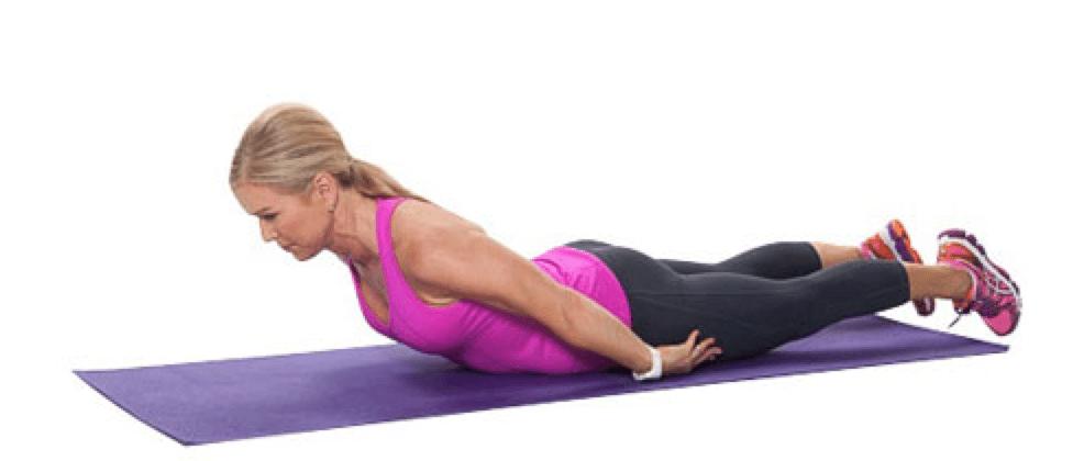 Las extensiones de la espalda media ayudan a fortalecer la espalda y ayudan a lidiar con el dolor de espalda.