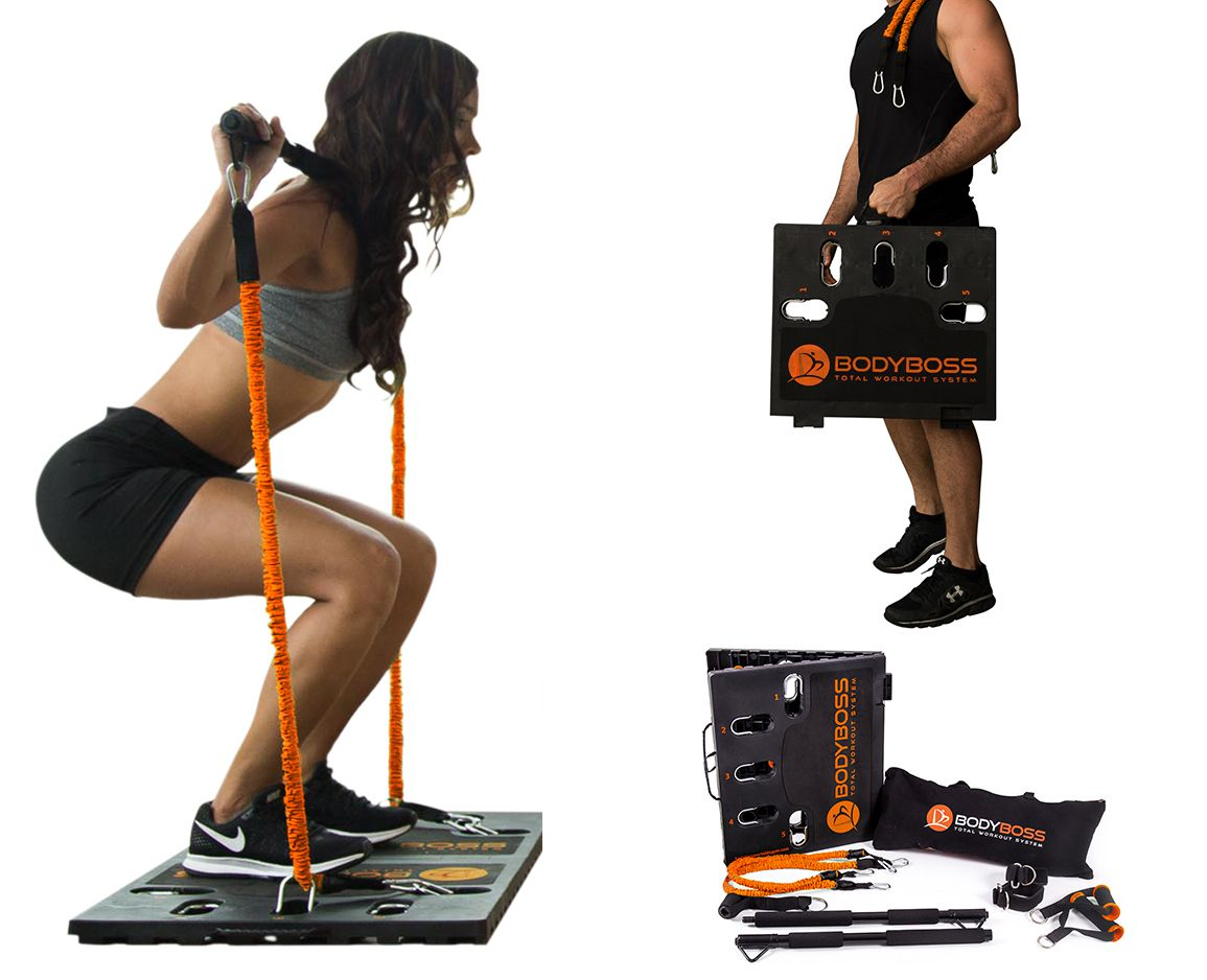 BodyBoss 2.0 - Full Portable Home Gym