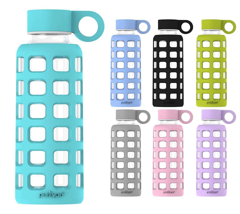 Best Glass  purifyou Premium Glass Water Bottle bd3cc588fc851