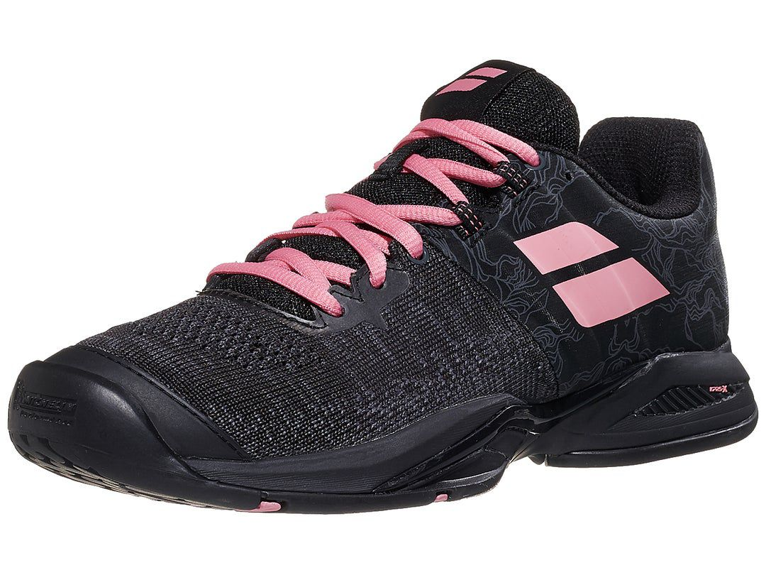 Babolat Propulse Blast Black/Geranium Women's Shoes