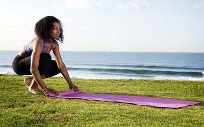 Review of Alignment Yoga Mats