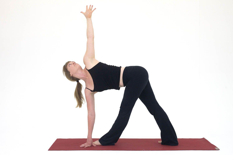 Yoga Poses for Hamstrings: Revolved Triangle - Parivrtta Trikonasana