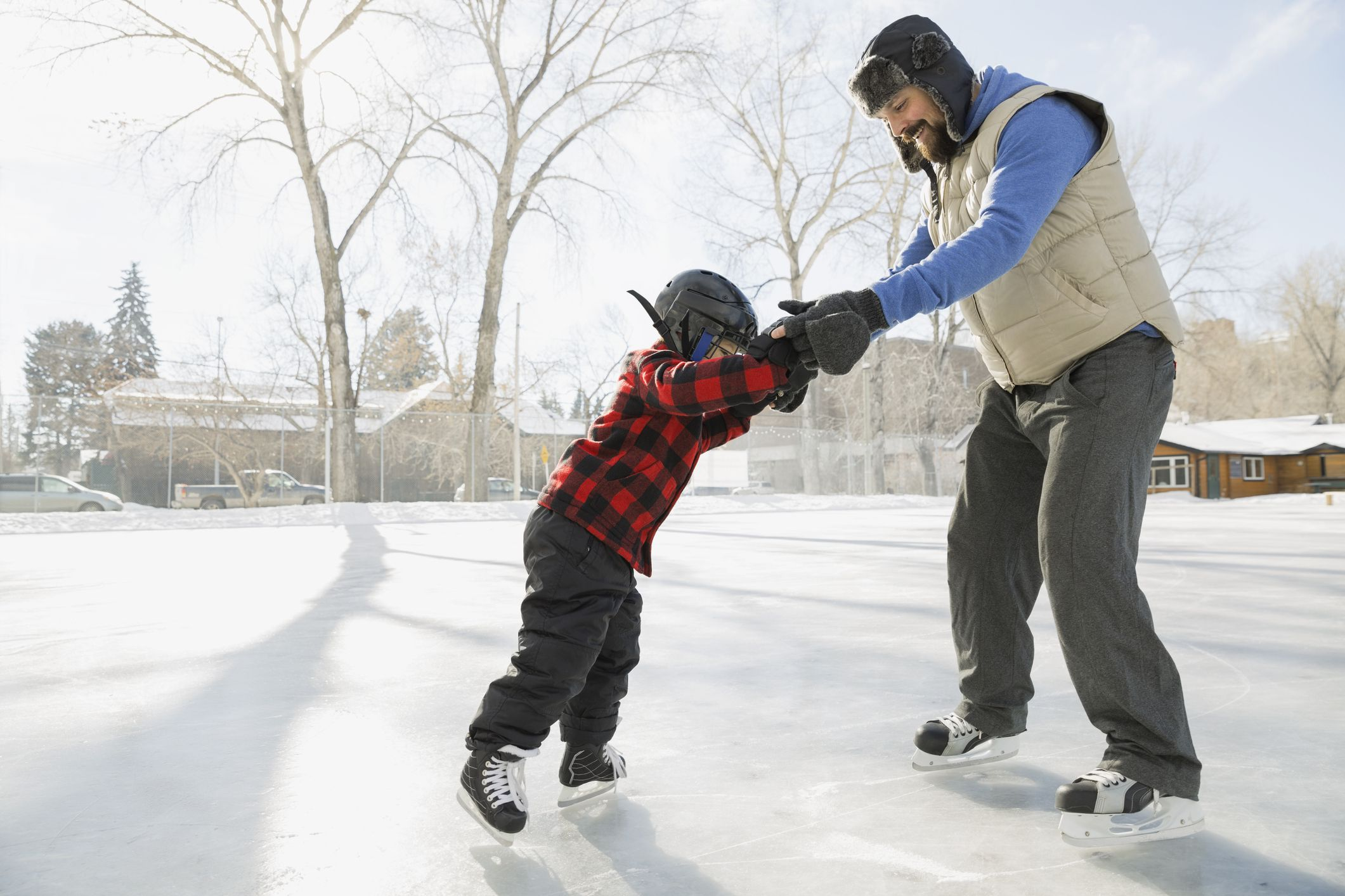 катание на коньках обучение картинки