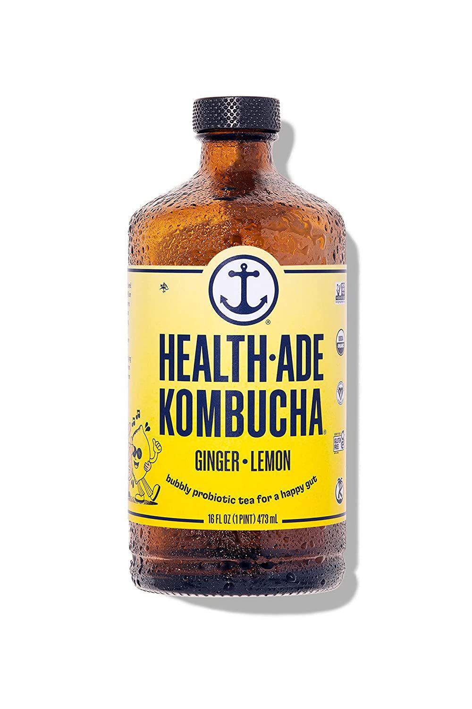 Health-Ade Kombucha Tea, Ginger Lemon
