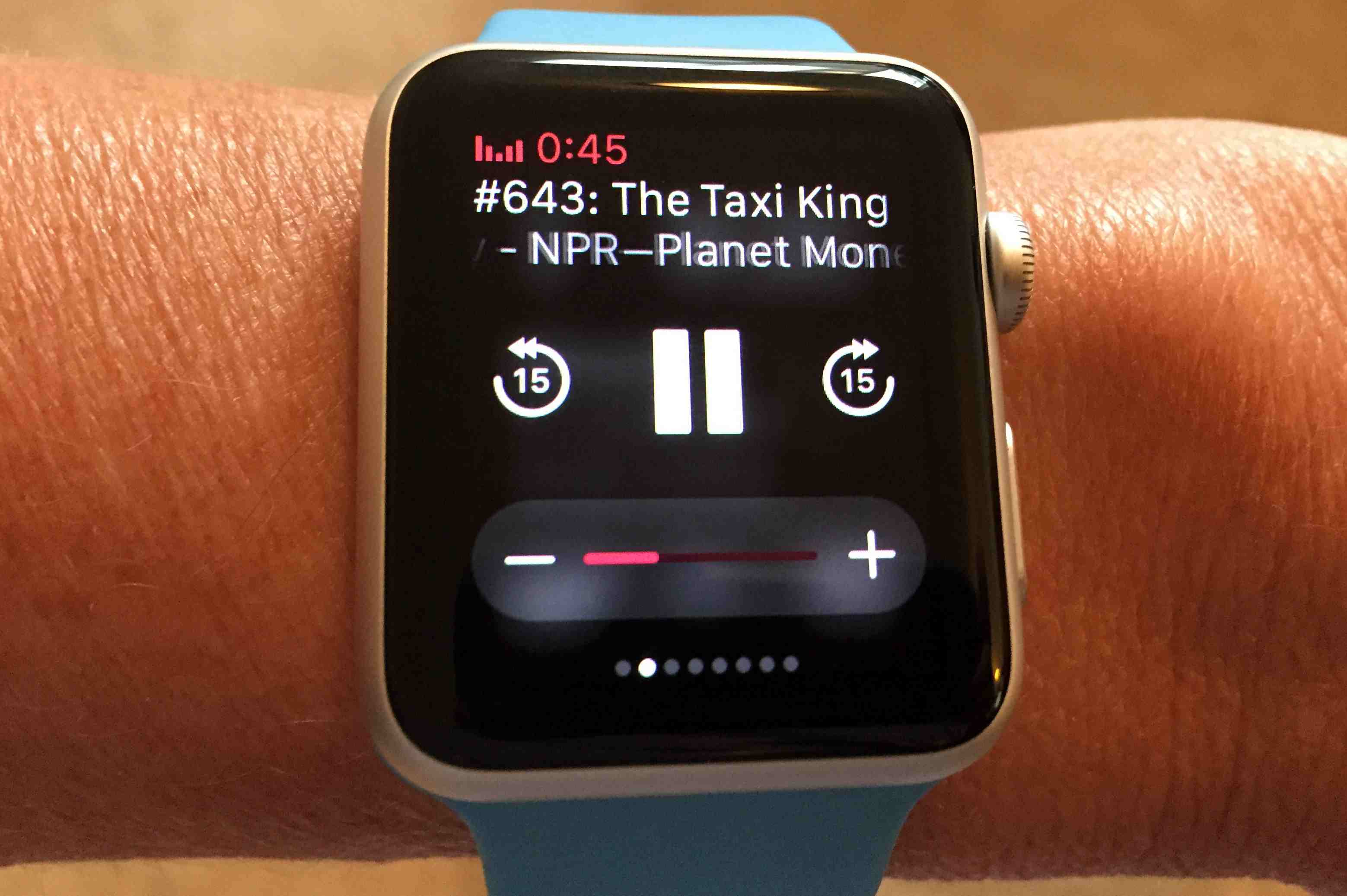 f43c3c805b3 Apple Watch Music and Podcast Control
