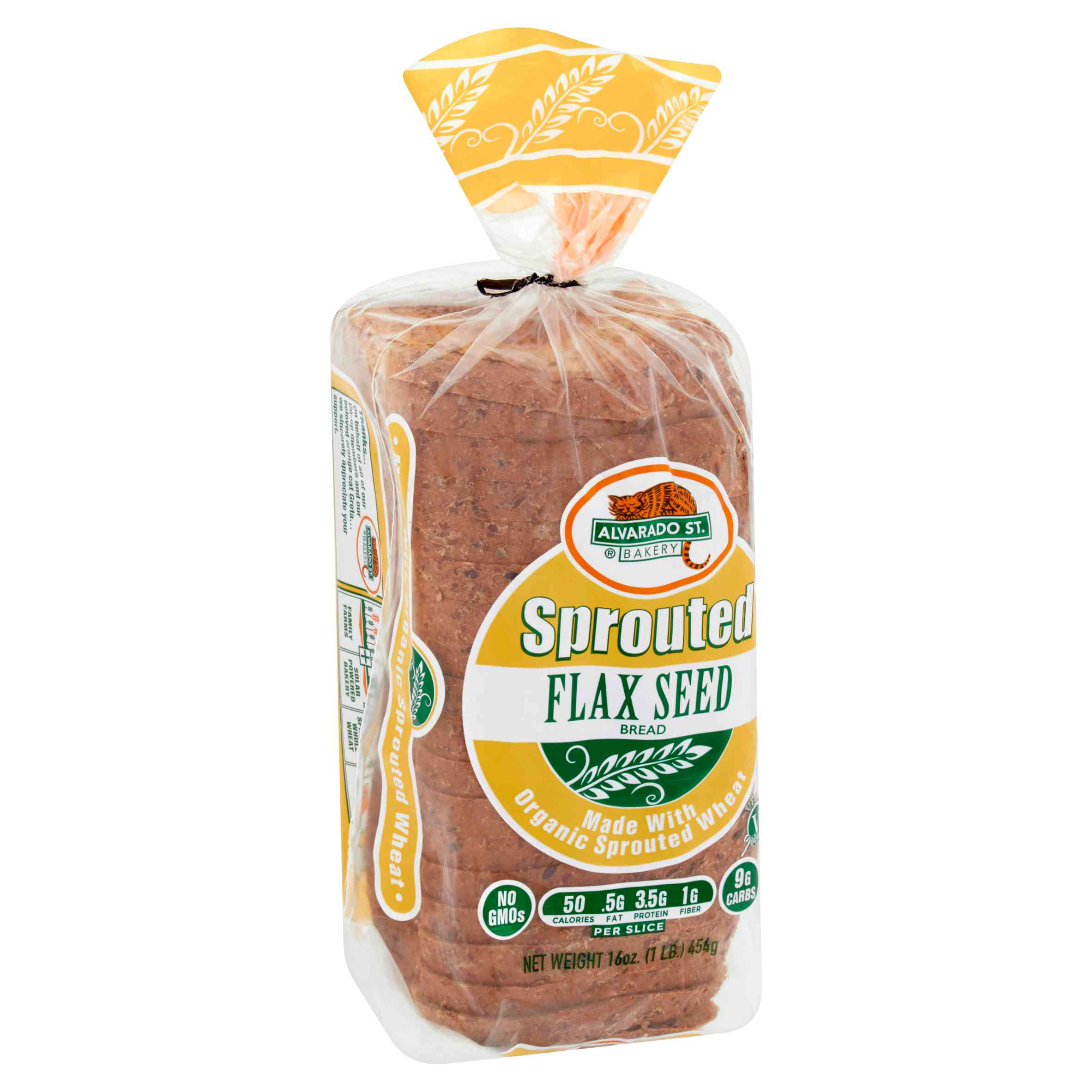 Alvarado St. Bakery Sprouted Flax Seed Bread