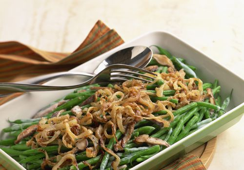 low calorie green bean casserole