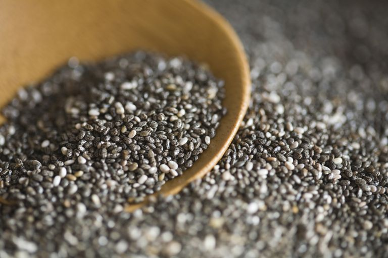 Whole Chia seeds