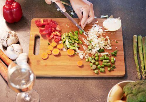 vegetales vegetarianos sin gluten para picar
