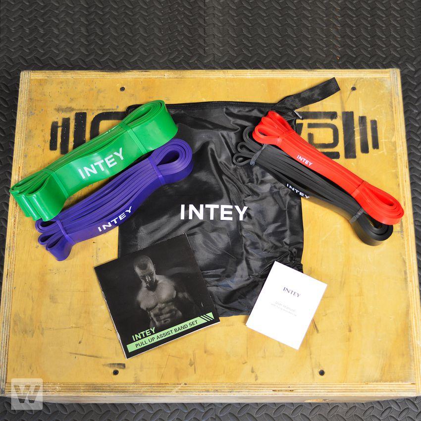 INTEY Exercise Resistance Band Set