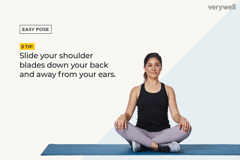 How to Do Easy Pose (Sukhasana)