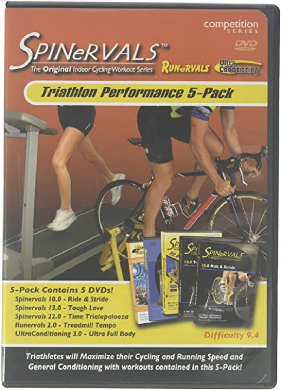 Spinervals Triathlon Performance 5-Pack DVDs
