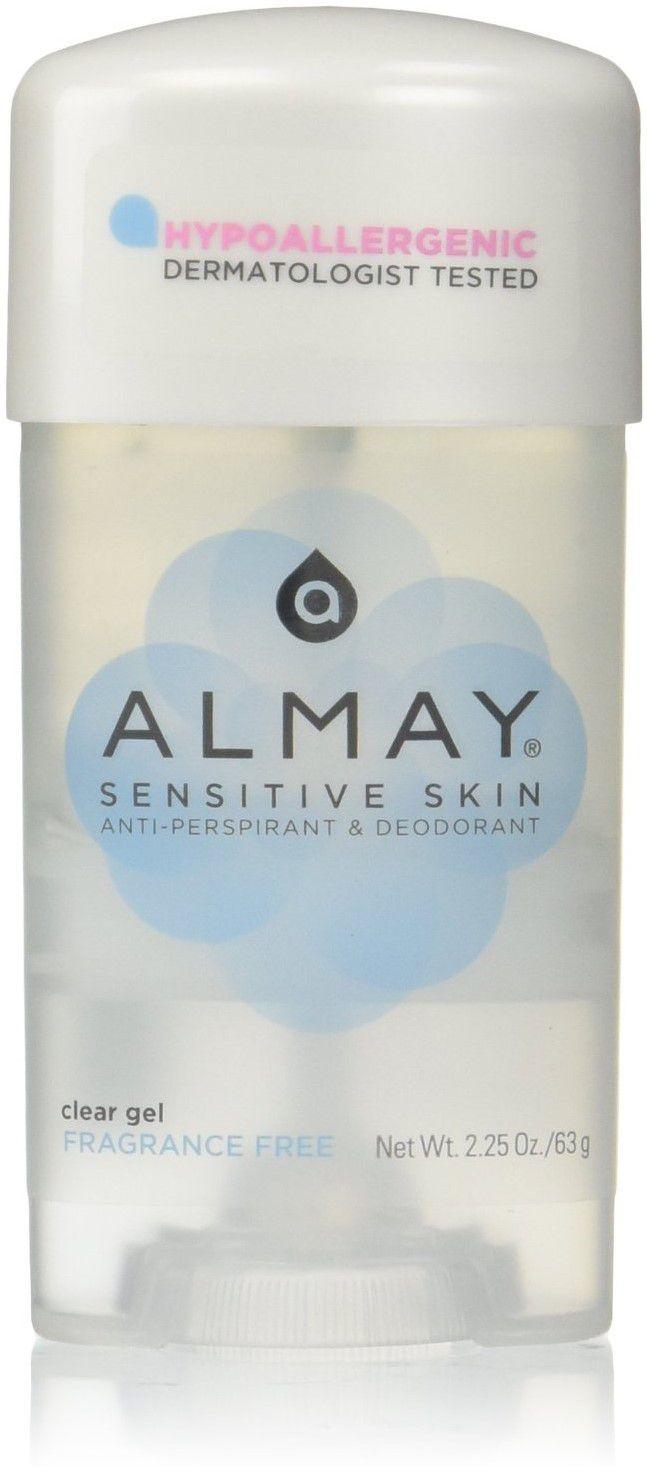Almay Anti-Perspirant & Deodorant Fragrance Free Clear Gel
