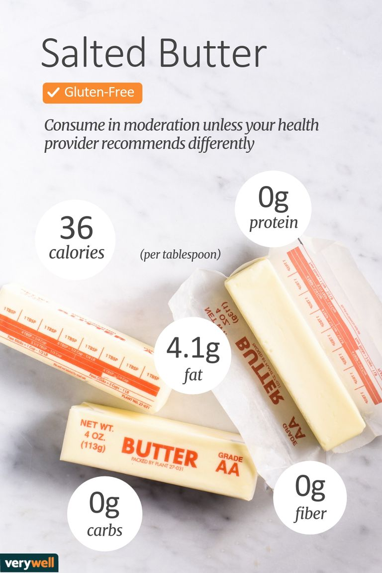 salted butter nutrition facts and health benefits
