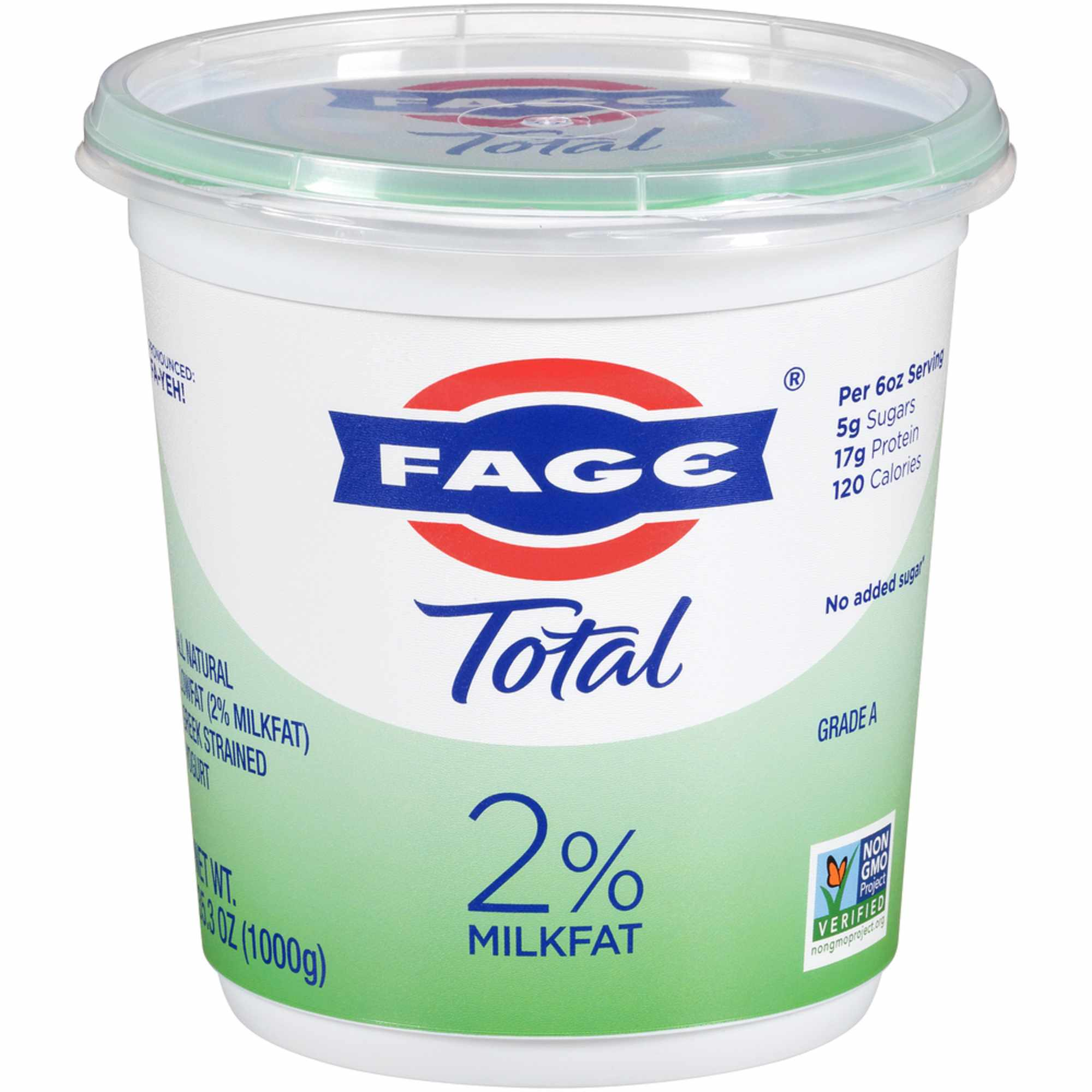 Fage 2% Plain Greek Yogurt