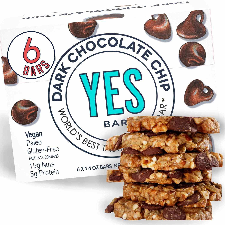 The YES Bar Dark Chocolate Chip