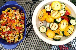 grilled vegetable salsa