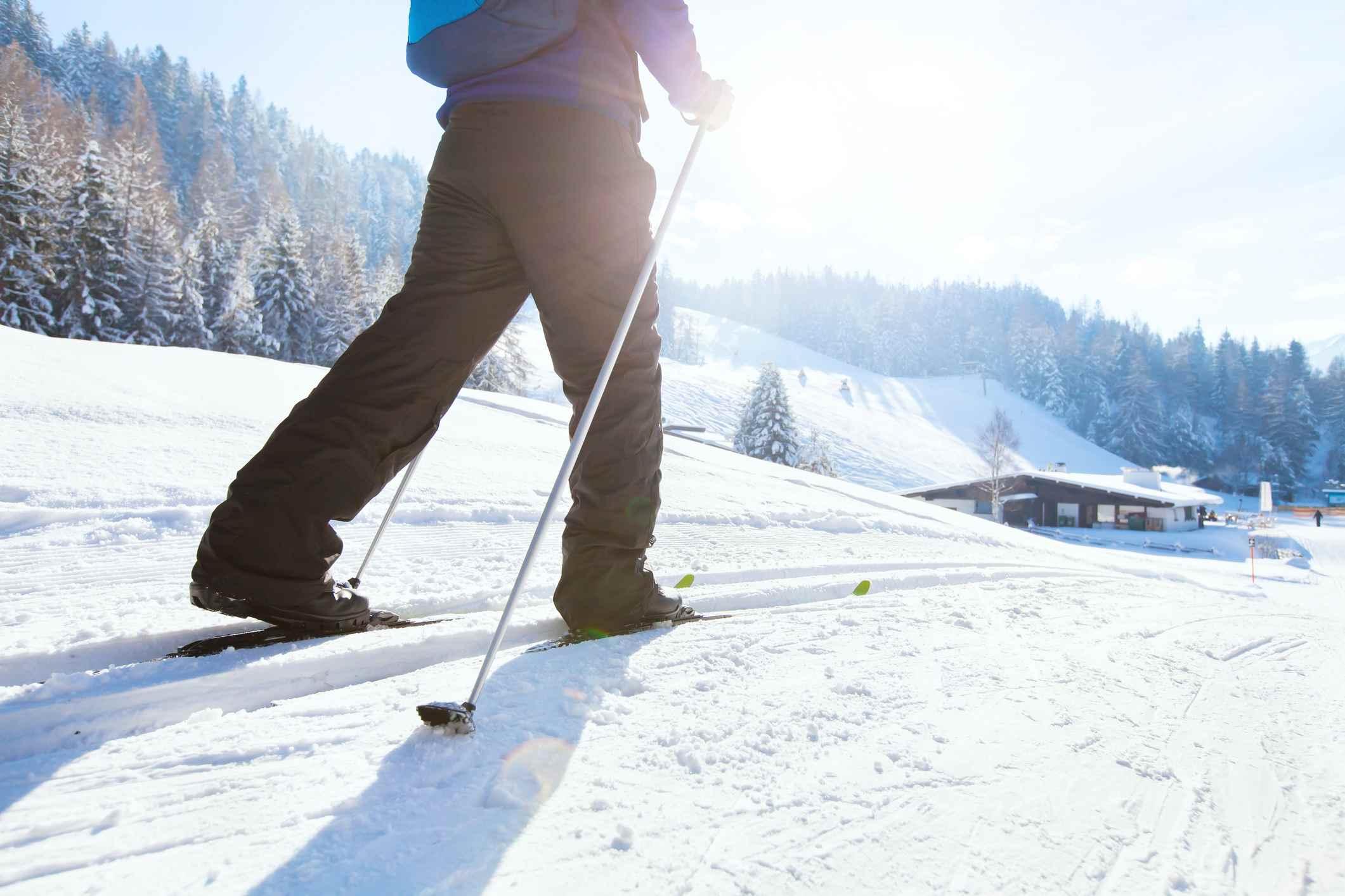 Esquí nórdico, vacaciones de invierno en los Alpes